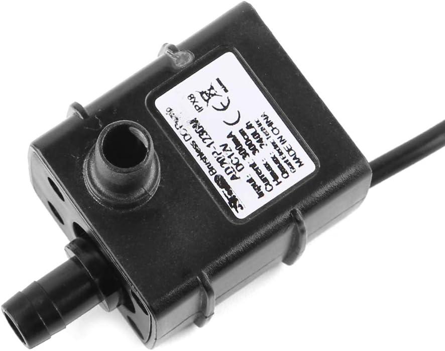 240 l//h wasserfest Durchflussrate IP68 CPU-K/ühlung f/ürs Auto professionell ger/äuscharm DC 5 V LAOSI Mini-Wasserpumpe