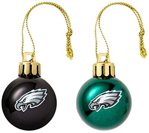 Philadelphia Eagles Christmas Ornament (NFL Philadelphia Eagles 12-Pack Mini Ornament Set)