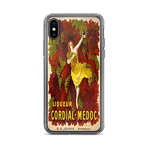 Vintage Poster - Liqueur Cordial-Medoc 1695 - iPhone Xs Max Phone Case