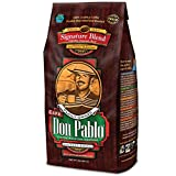 Cafe Don Pablo Gourmet Coffee Signature Blend - Medium-Dark Roast - Whole Bean - 2 Lb Bag