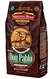 2LB Cafe Don Pablo Signature Blend Coffee - Whole Bean Coffee - Medium Dark Roast - 2 Lb Bag (Whole Bean)