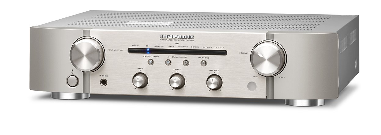 marantz Integrated Amplifier 192 kHz / 24 bit support, high-quality digital input PM-6006 / FN (Silver Gold) by Marantz