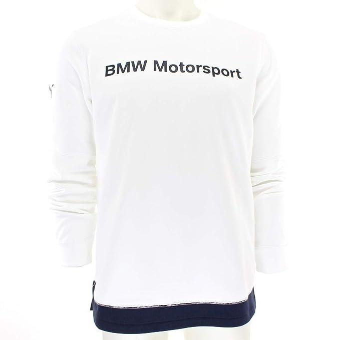 PUMA BMW MSP 573385 02 - Sudadera con Cuello Redondo para Hombre ...