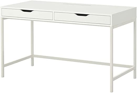Amazon Com Ikea Alex Computer Desk With Drawers White Office