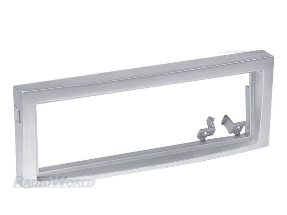Silver Single Din Stereo Radio Fascia Facia Panel Plate Surround Trim For 407 C5