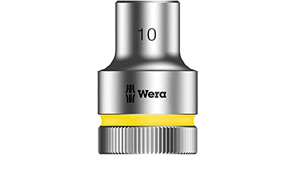 Hex Head 15mm x Length 37mm Wera Zyklop 8790 HMC 1//2-Inch Socket