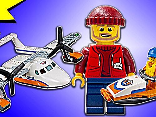 (Clip: Coast Guard Sea Rescue Plane)