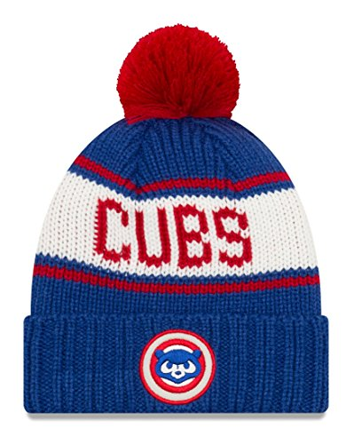 Chicago Cubs New Era MLB 9Twenty Cooperstown Retro Patch Cuffed Knit Hat - 1984