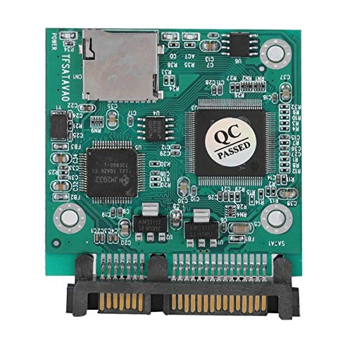 TF Card to, Durable SDHC to Mini Practical Impact Resistant Cost Effective Easy for Hard Drive/SSD for Computer
