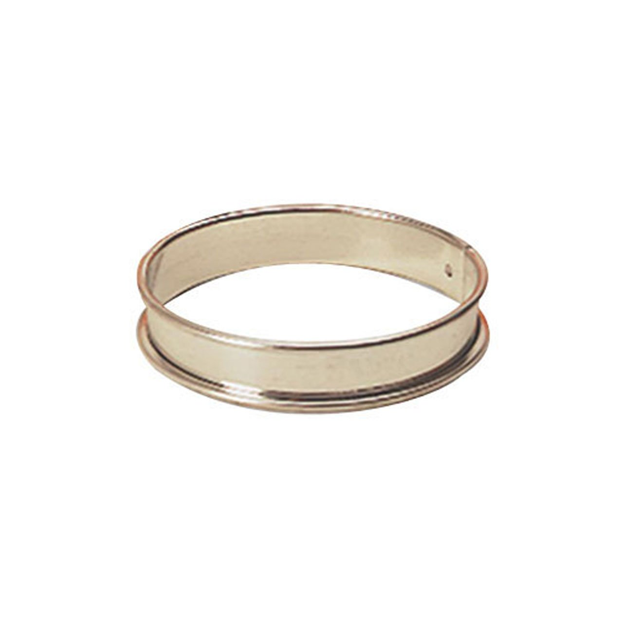 World Cuisine Pastry Ring, Tart Dia 3 1/8 X H 3/4 Browne Foodservice 80 824920