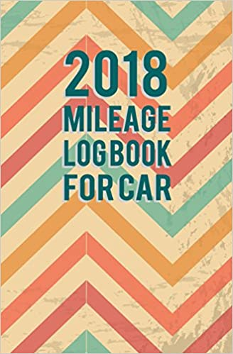 2018 mileage log book for car small business owners self employed