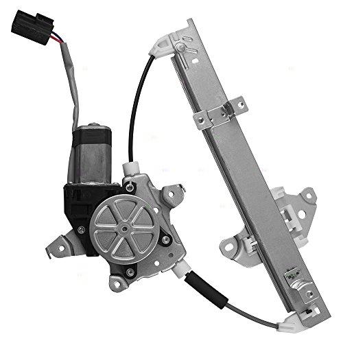- Passengers Rear Power Window Lift Regulator w/Motor Assembly Replacement for Nissan Altima Maxima 82720-JA000