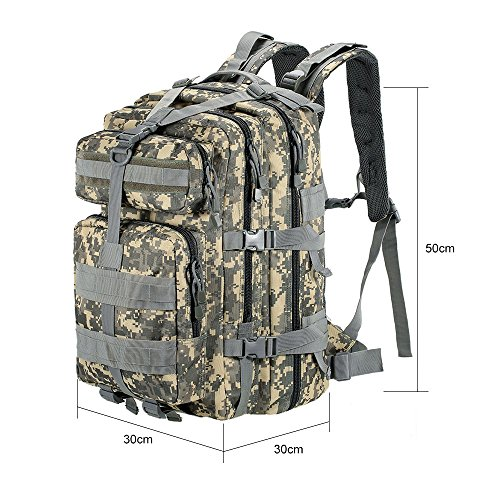 ABCAMO 45L Hunting Outdoor 3P Backpack by ABD OUTDOOR (Image #4)