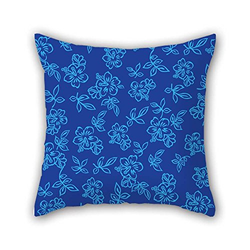 eyeselect 16 X 16 Inches / 40 by 40 cm Flower Pillow Shams Double Sides Ornament and Gift to Home Theater Teens Club Boys Wife Teens Girls for Christmas