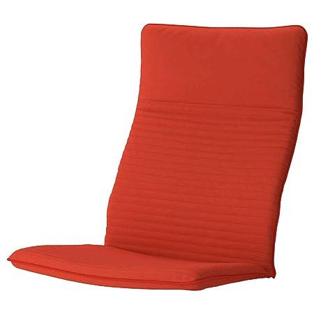 IKEA ASIA POANG - Cojín para sillón, Color Naranja y Rojo ...