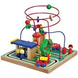 City Bead Maze for Developing Visual, Motor and Tracking Skills
