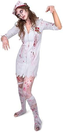 Generique - Disfraz Enfermera Zombie Mujer S: Amazon.es: Juguetes ...