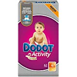 Dodot Activity - Pañales para bebé, talla 4 - 186 pañales