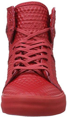 Supra Skytop Medio Sneaker Rosso - Rosso