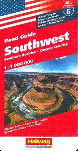 USA Southwest (Road Guide) (Maps Southwest Usa)