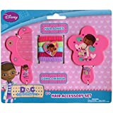 Disney Doc McStuffins 7 Piece Hair Accessory Set - Comb, Mirror and Ponytail Holders by Disney