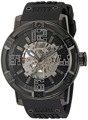 Elini Barokas Men's ELINI-20025-BB-01 Spirit Analog Display Automatic Self Wind Black Watch