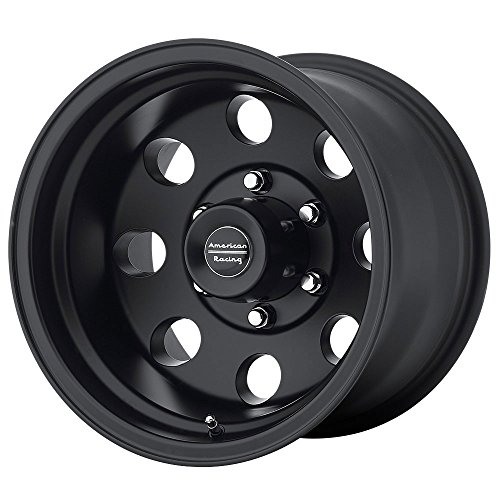 American Racing Custom Wheels AR172 Baja Satin Black Wheel (16×8″/8×165.1mm, 0mm offset)