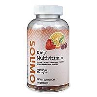 Amazon Brand - Solimo Kids' Multivitamin, 190 Gummies