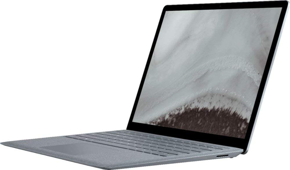 Microsoft Surface Laptop 2 Business 13.5 Inch 512GB Windows 10 Pro (16GB RAM, Intel Core i7, Touch-Screen) Platinum LQT-00001