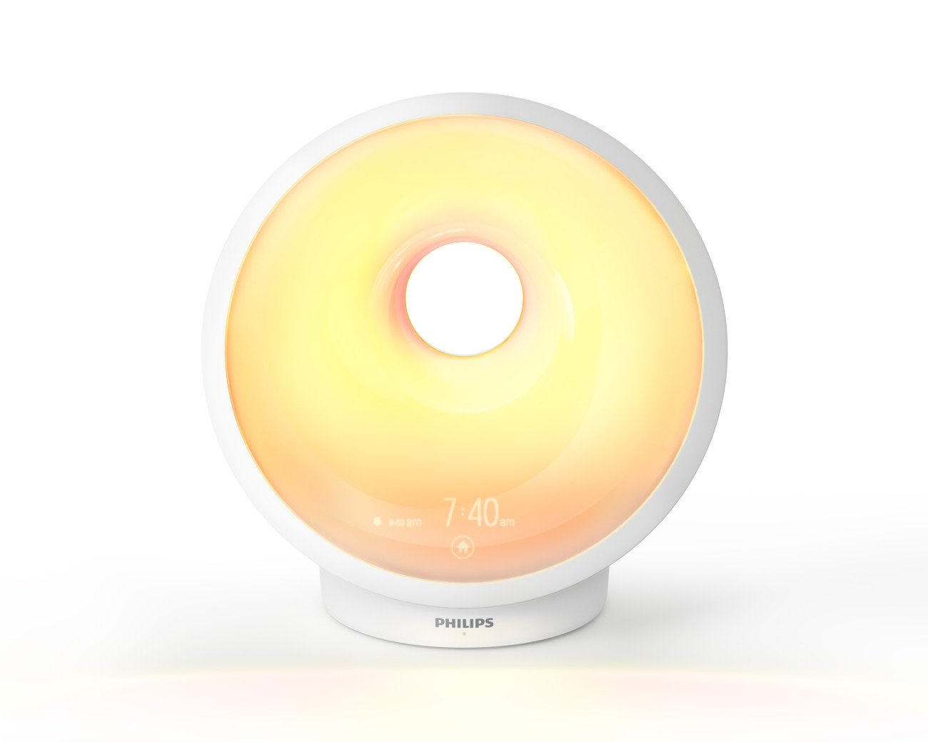 Philips Somneo Sunrise Wake-up and Sleep Therapy Light with Alarm Clock, White, HF3650/60