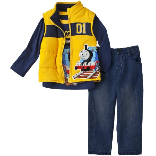 Vest Set 3T (Blue Embroidered Hoodie Pant)