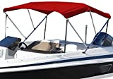SUMMERSET by Eevelle Premium Bimini 3 Bow Boat Top with Hardware