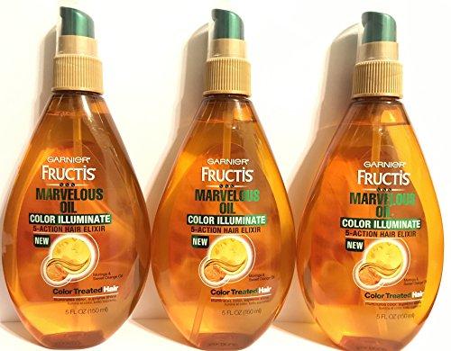 Garnier Fructis Marvelous Oil Color Illuminate 5oz Pump