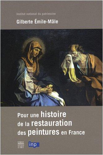 Pour une histoire de la restauration de peintures en France