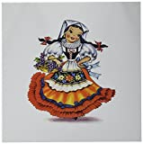 Best 3dRose Dolls - 3dRose Greeting Cards, 6 x 6 Inches, Pack Review
