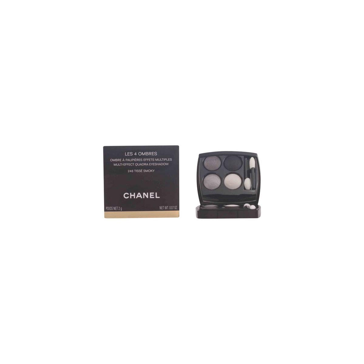Chanel Les 4 Ombres #322-Blurry Grey - 5 ml: Amazon.es