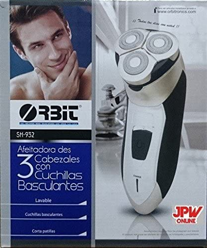 JPWOnline - Maquina de afeitar recargable Orbit SH-932: Amazon.es ...