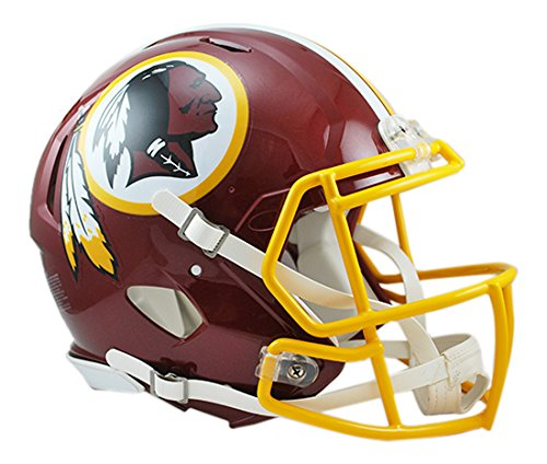 (NFL Washington Redskins Speed Authentic Football Helmet)