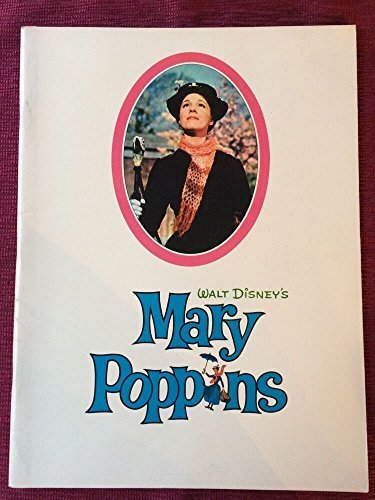 Mary Poppins 1964 original movie program -NOT A DVD-