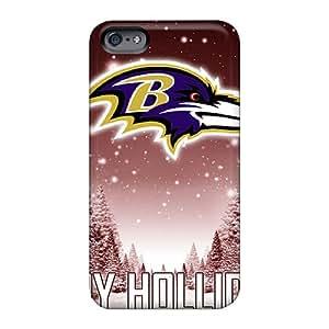 LavernaCooney Apple Iphone 6 Plus Best Hard Phone Cover Customized Fashion Baltimore Ravens Image [rqV28511Wahh]