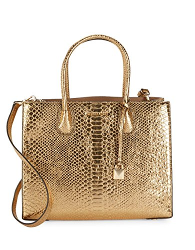 MICHAEL Michael Kors Women's Mercer Tote (Gold)