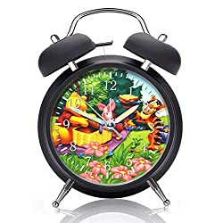 Winnie The Pooh Alarm Desk Clock 4 Inches Home or Office Decor X02