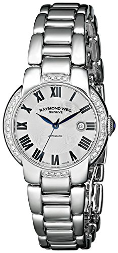 Raymond Weil Women's 2629-STS-01659 Jasmine Stainless Steel Watch with Link Bracelet