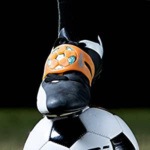 The SOCKIT Light Up Youth Soccer Kicking Trainer Aid Rocket Orange