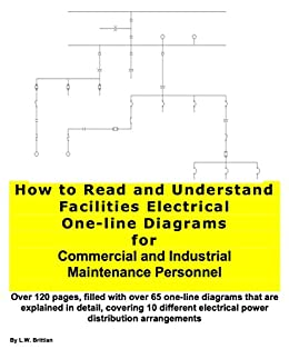 how to read and understand facilities electrical one line diagrams rh amazon com one line electrical diagram design one line electrical drawing
