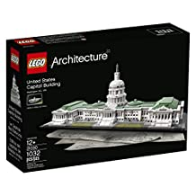 LEGO Architecture 21030 United States Capitol Building Kit (1032-Piece)