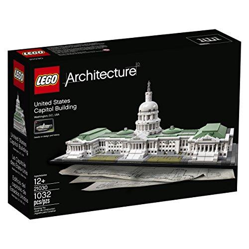 LEGO Architecture 21030 United States Capitol Building Kit (...