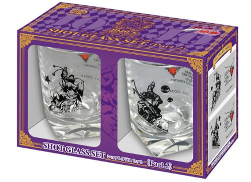 "TV anime ""JoJos Bizarre Adventure"" shot glass set 2P (Part 2) (japan import)"