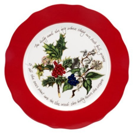 Portmeirion The Holly and The Ivy Charger Plate, Dia.33cm ()