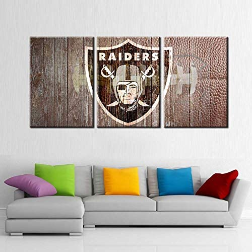 Sport Wall Art Man Cave Poster Paintings Canvas Posters American Football Picture